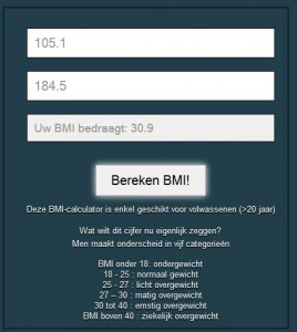 BMI 17/12/2012