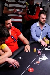 Bert Geens Eureka Poker Tour 2014 BUBBLE