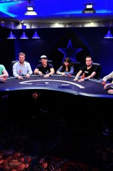 Bert Geens Eureka Poker Tour 2014 Final Table Shot