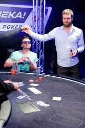 Bert Geens Eureka Poker Tour 2014 Martin Meciar