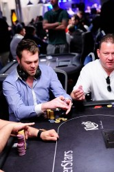 Bert Geens Poker Rozvadov Eureka Day 2 Bubble