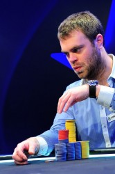 Bert Geens Poker Rozvadov Eureka Feature Table Day 2