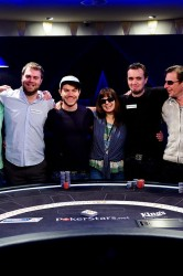 Bert Geens Poker Rozvadov Eureka Final Table