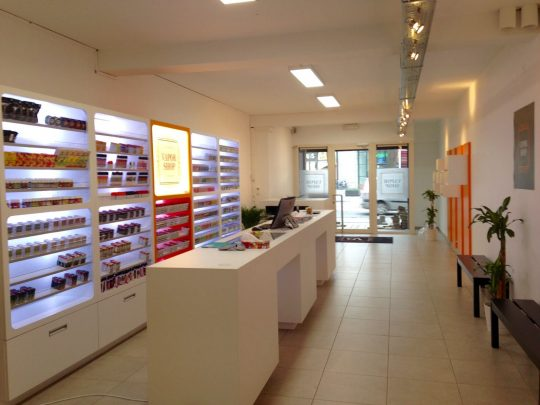 Vaporshop in Aalst