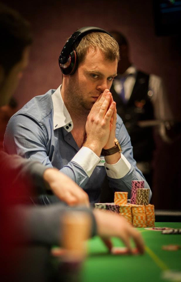 Bert Geens Spring Poker Open Brussels