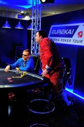 Bert Geens Eureka Poker Tour 2014 Day 2