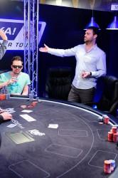 Bert Geens Eureka Poker Tour 2014 bust hand