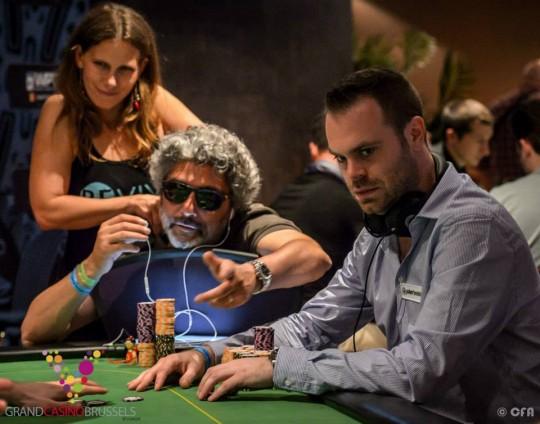 Bert Geens Jacques Guenni WPT Brussels Poker